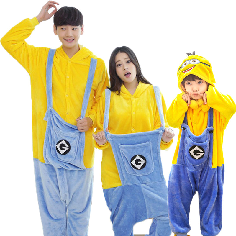Minion Halloween Costume Matching Outfits – Proud Mom's Club