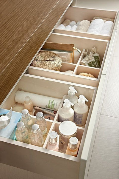 Cotton & Clay - Bathroom drawer organiser