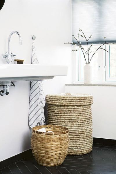 Cotton & Clay - Bathroom Laundry Baskets