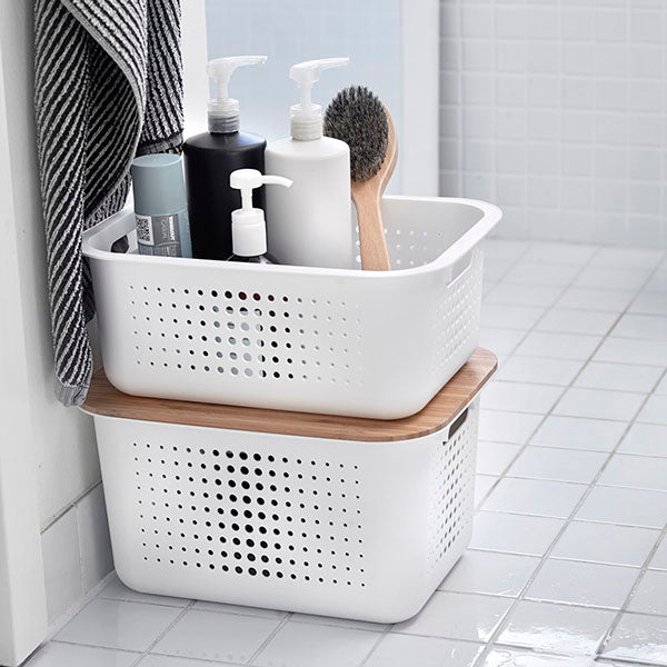 Cotton & Clay - Bathroom storage container