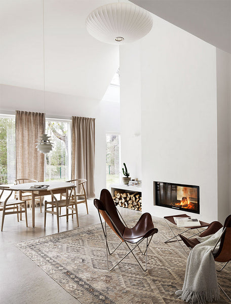 Cotton & Clay - The Art of Warm Minimalism - Cozy living room