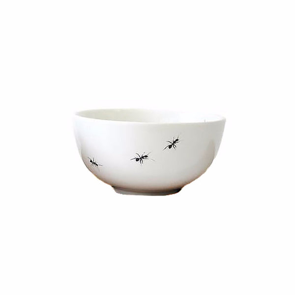 Cotton & Clay Ant Snack Bowl - White