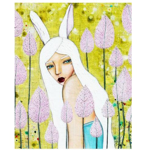 Cotton & Clay Art Print - Alice in Oz