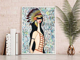 Cotton & Clay Art Print - Angeni