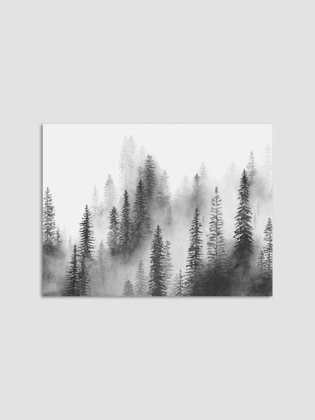 Cotton & Clay Art Print - Forest Mist