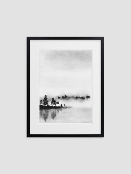 Cotton & Clay Art Print - Reflections