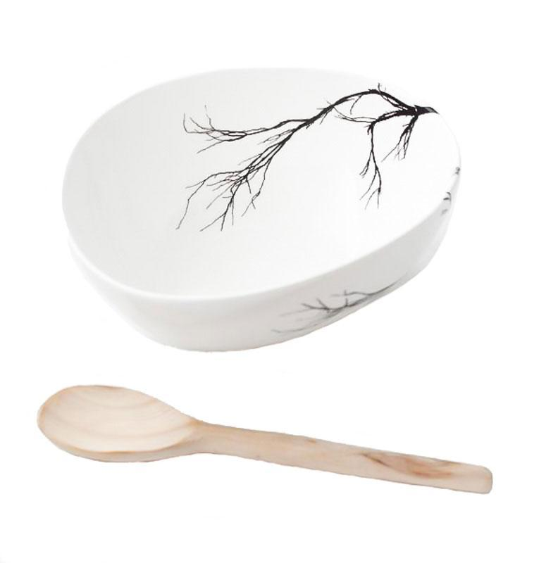 Cotton & Clay Bowl & Spoon - Branch