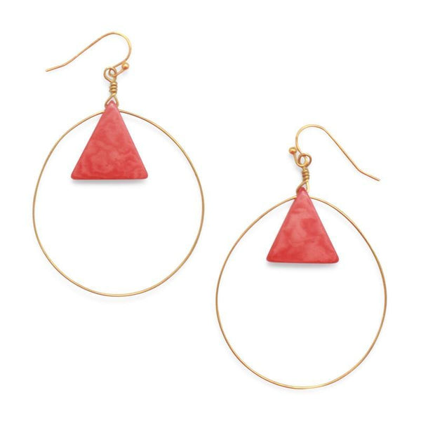 Cotton & Clay Cardagena Earrings – Coral