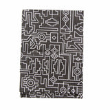 Cotton & Clay Ndemetric Tea Towel - Black & White