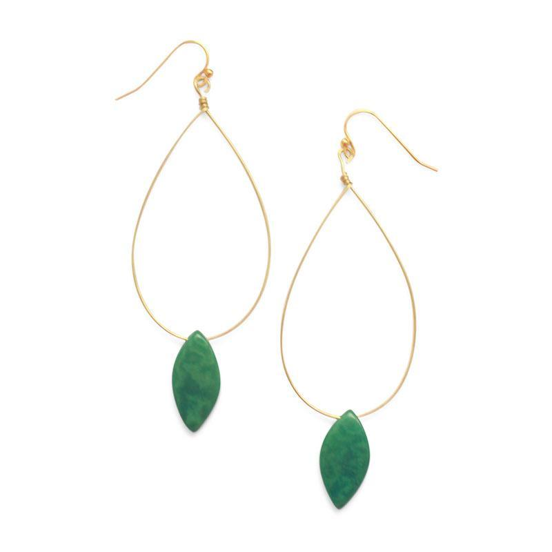 Cotton & Clay Palermo Earrings – Emerald