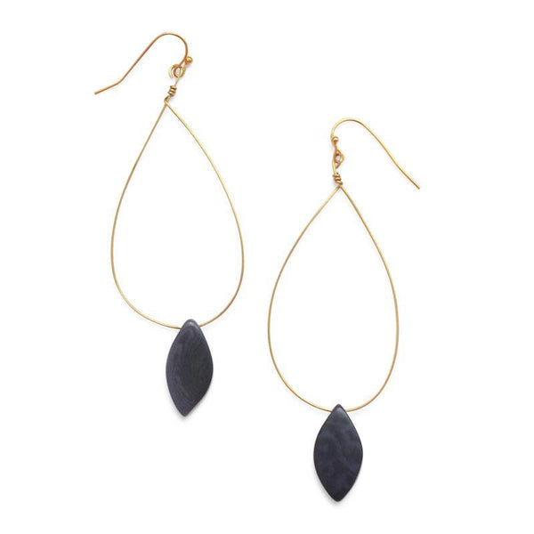 Cotton & Clay Palermo Earrings – Indigo