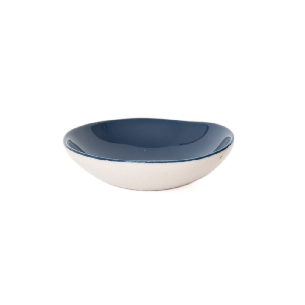 Cotton & Clay Ring Bowl - Indigo Blue