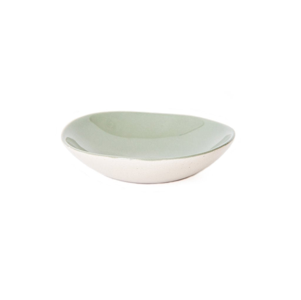Cotton & Clay Ring Bowl - Olive Green