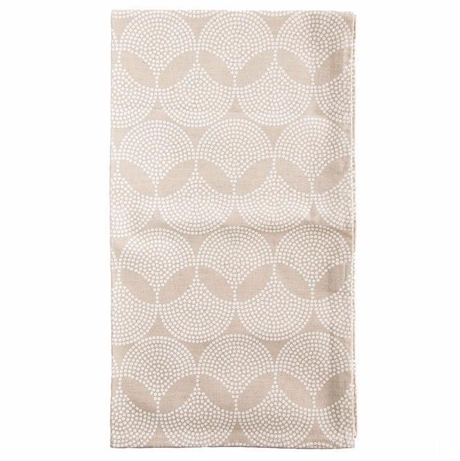 Cotton & Clay Sunset Radiance Table Runner - White & Cream