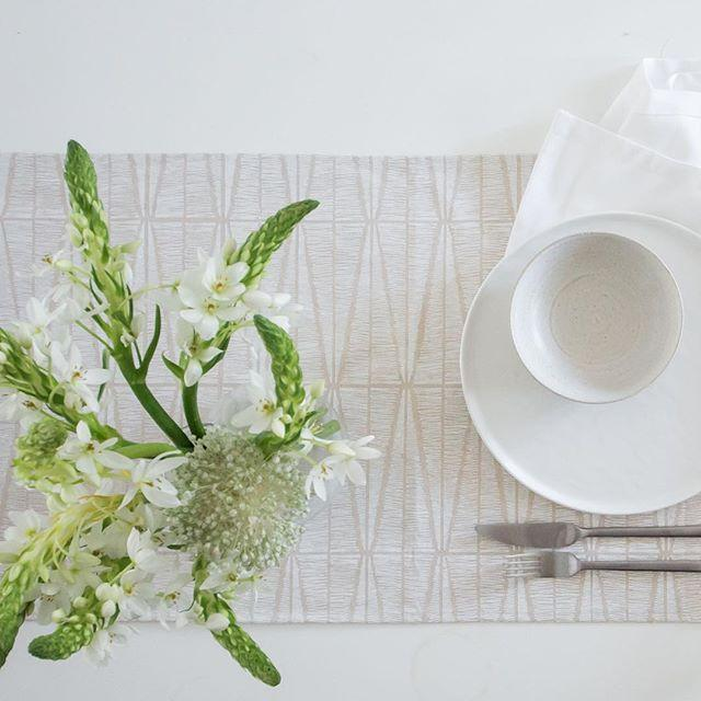 Cotton & Clay Sylvia Table Runner - Ivory