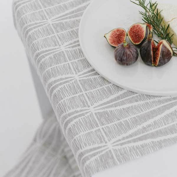 Cotton & Clay Sylvia Table Runner - Mist