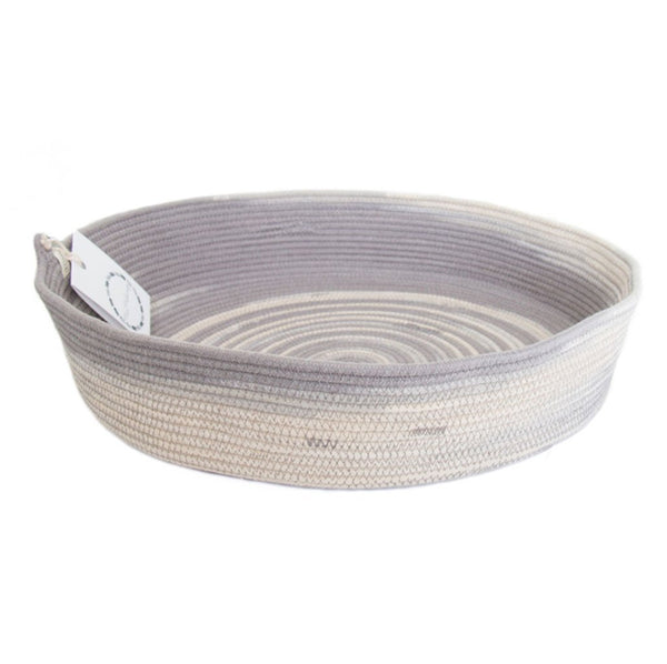 Cotton & Clay Table Basket - Fog