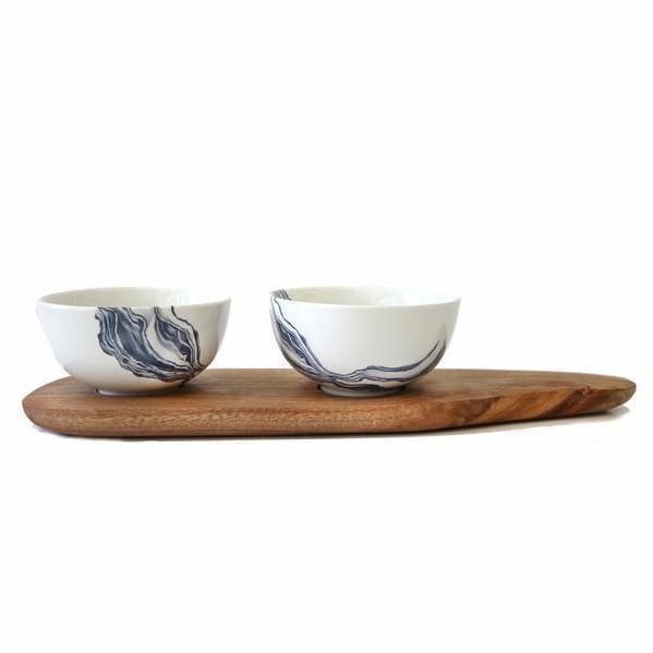 Cotton & Clay Tapas Set - Indigo Mineral