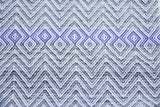 Cotton & Clay Tawulo Towel - Grey and Blue