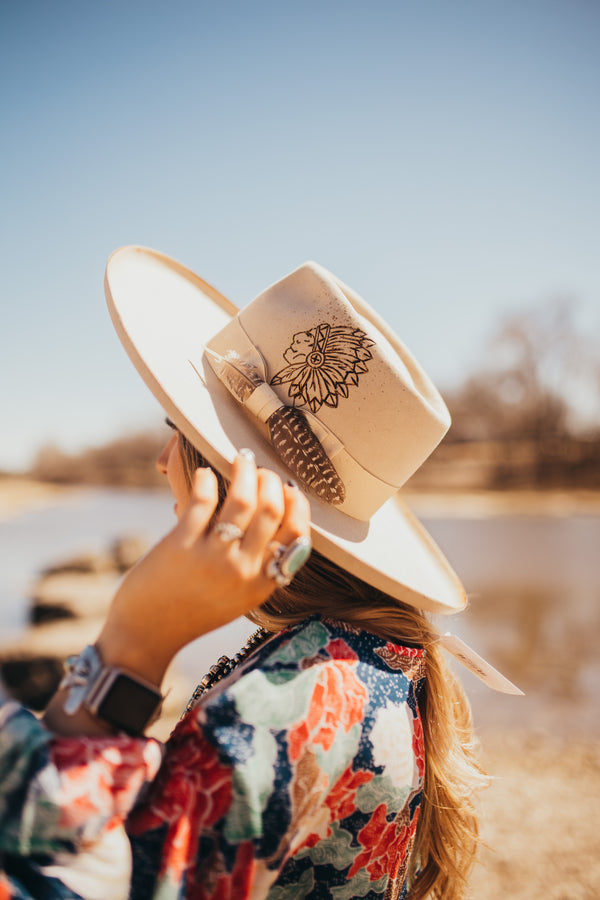 Dusty Wide Brim Hat