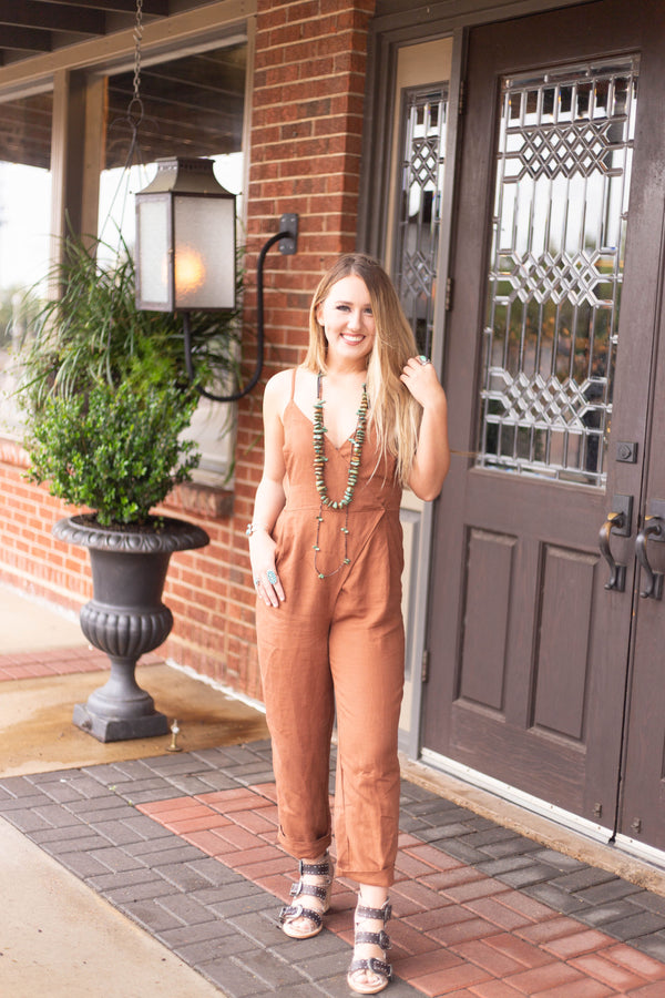 Gretchen Jumpsuit by Amuse Society