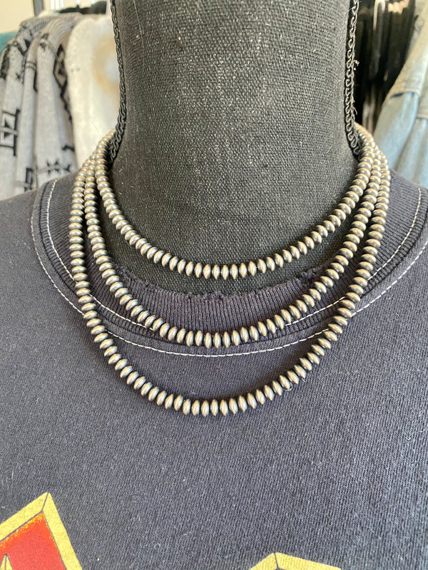 6mm Disc Navajo Pearl Strands