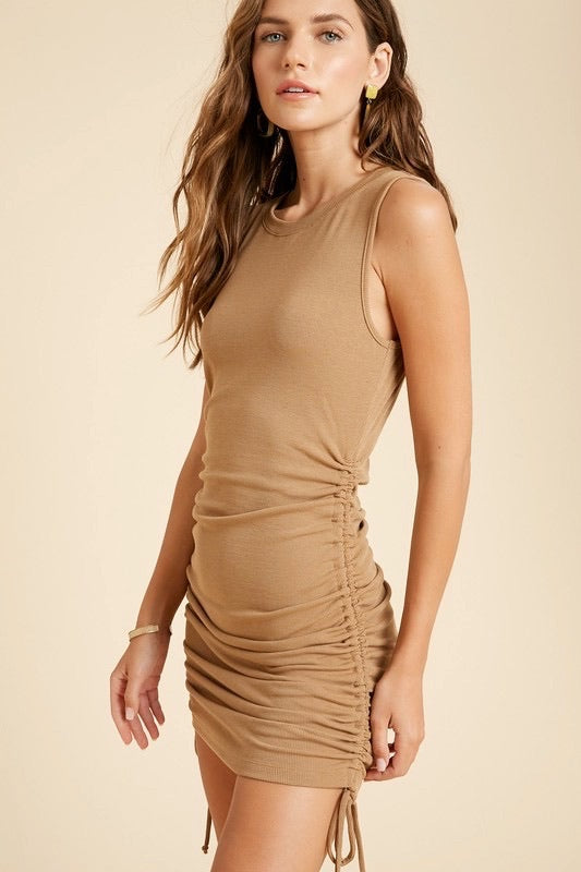 Conway Ribbed Mini Dress