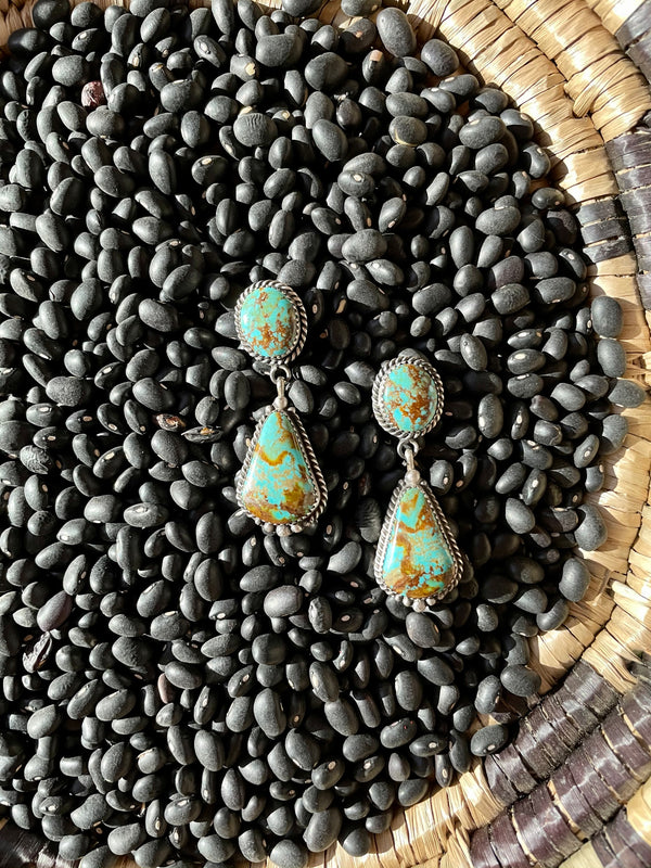 Gentry Turquoise Earrings