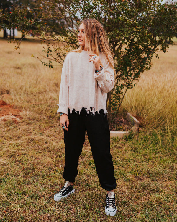 Gentry Distressed Sweater