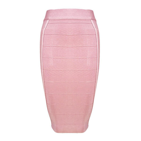 Cheap Bodycon Bandage Pencil Skirt