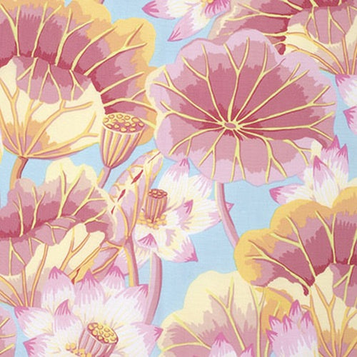 Collective Classics by Kaffe Fassett, Lake Blossoms - Pink