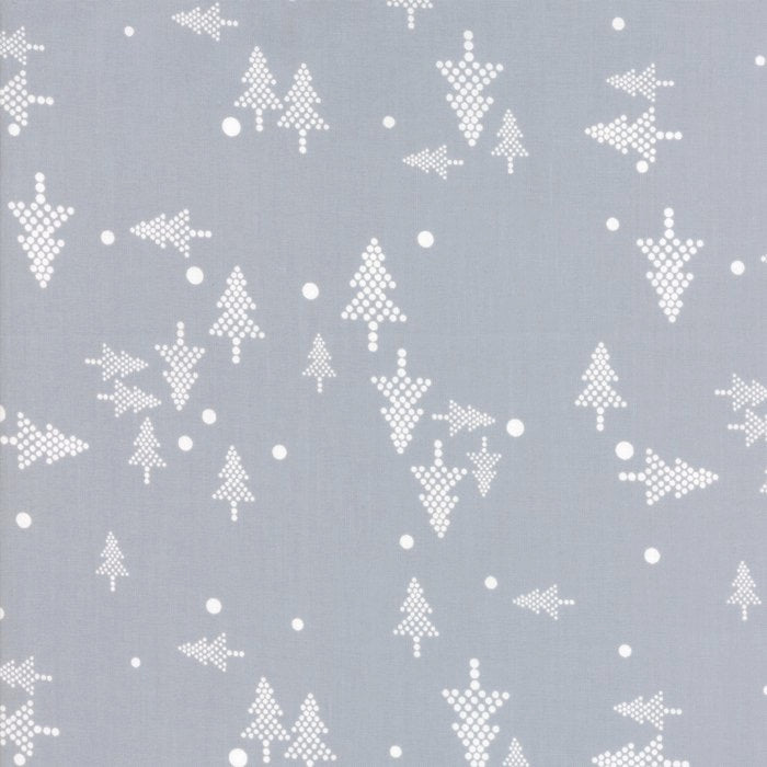 White Christmas Metallic by Zen Chic, Silver