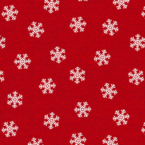 Holiday Road Trip, Snowflakes Red