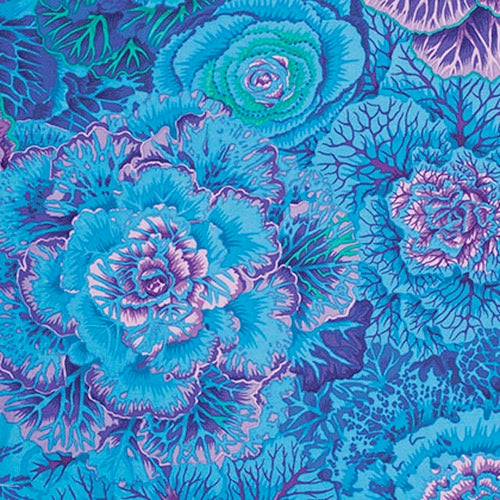 Collective Classics by Kaffe Fassett, Brassica - Blue