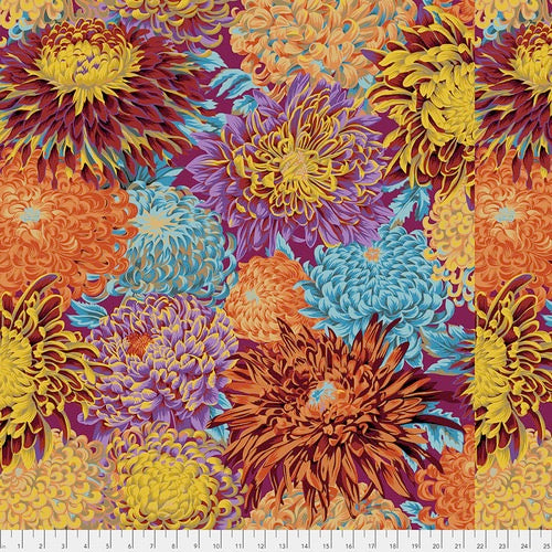 Collective Classics by Kaffe Fassett, Japanese Chrysanthemum - Autumn
