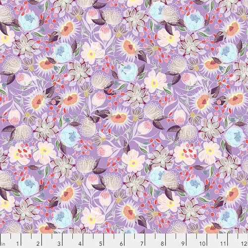 Vibrant Blooms by Shannon Newlin, Meadow - Lavender