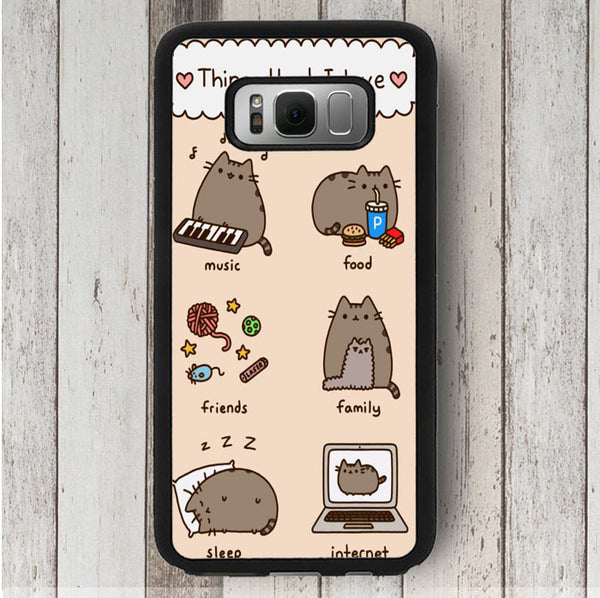 Pusheen 20Cat 20Wallpaper samsung galaxy s8 plus case caseiphonefy j18 d43e677f 8413 432e 8e6f ece30229fd94 grande