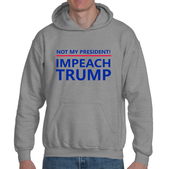 Not My President! - The Dump Trump Dump Hoodie