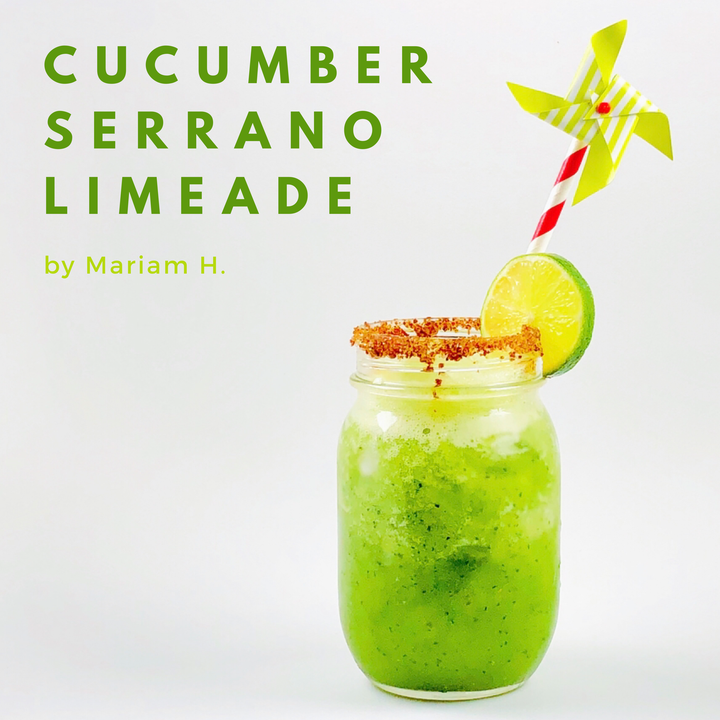 BarbacoApparel Test Kitchen: Cucumber Serrano Limeade