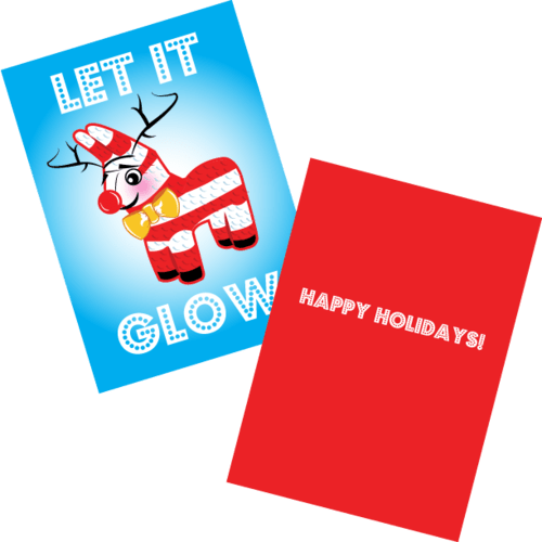Let It Glow Holiday Card
