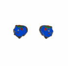 Piggy Bank Enamel Earrings