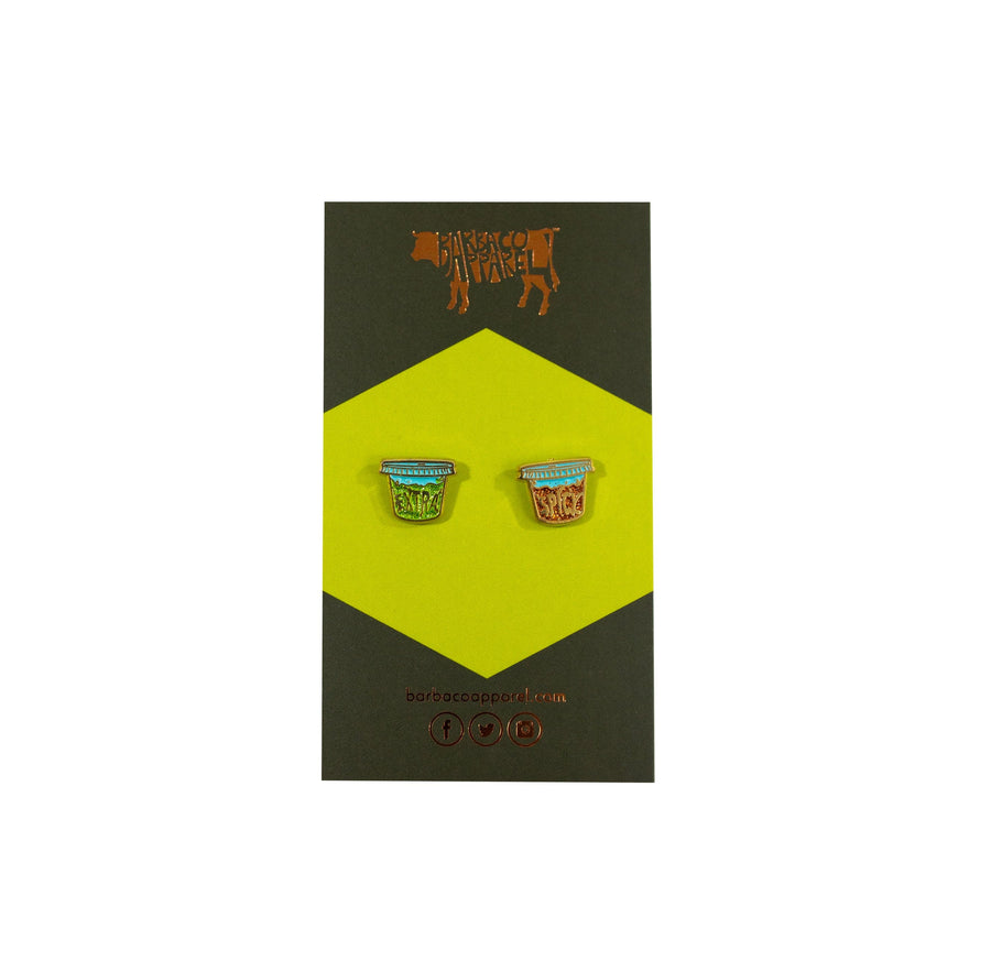 Extra Spicy Enamel Earrings