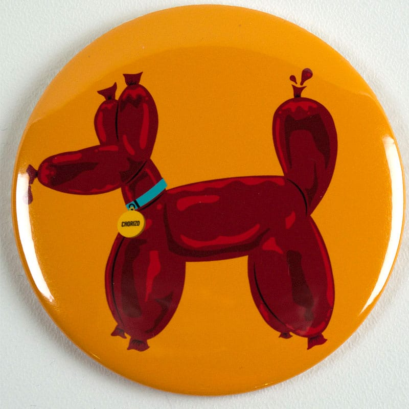 Chorizo Dog Magnet or Mirror