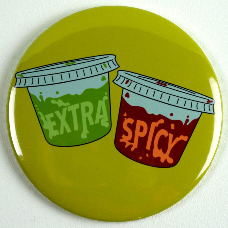 Extra Spicy Magnet or Mirror