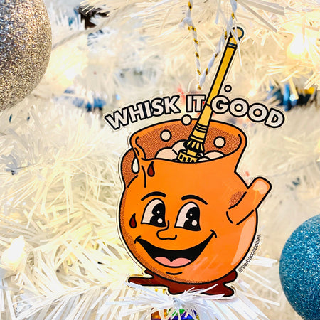 Whisk It Good Acrylic Ornament