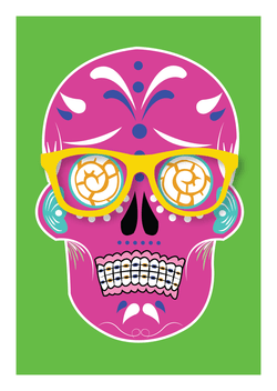 La Calavera Post Card