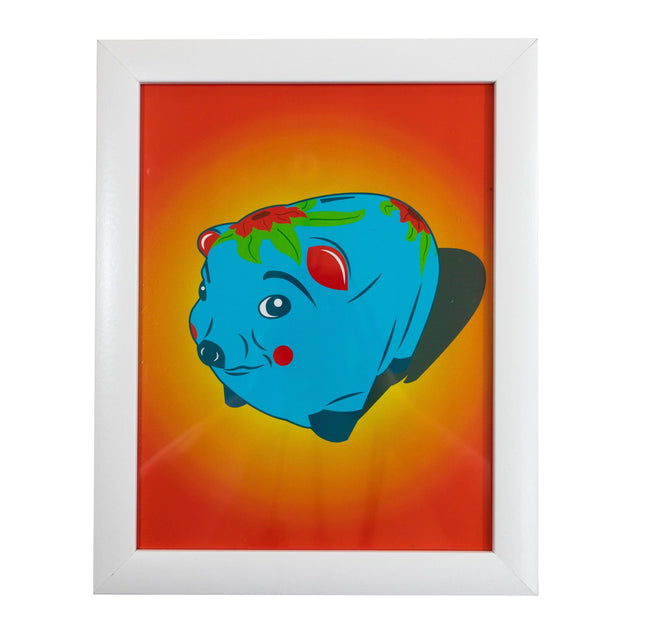 Piggy Bank Art Print