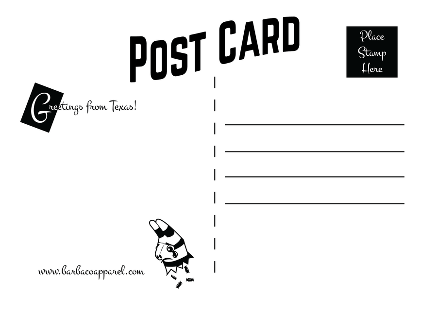 Fideo Post Card