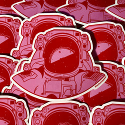 Taconaut Vinyl Sticker