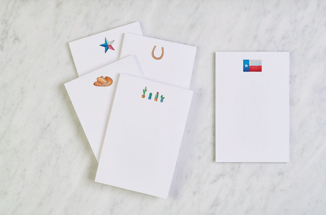 Life Well Lone-starred Notepad Multi-Set